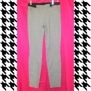 nwot uniqlo houndstooth heattech pants size 28